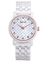 Women's Fashion Watch Wrist watch Casual Watch Quartz Ceramic Band