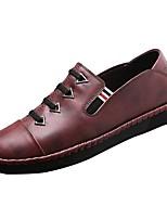 Homme Chaussures Cuir Printemps Automne Confort Mocassins et Chaussons+D6148 Lacet Pour Décontracté Noir Marron Bleu