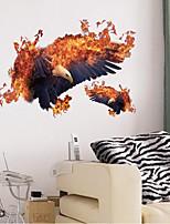 Animais Adesivos de Parede Autocolantes de Aviões para Parede Autocolantes de Parede Decorativos Material Decoração para casa Decalque