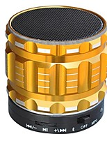 S22 Bluetooth Micro Intégré V4.0 3.5mm AUX USB Caisson de Graves Or Noir Argent Cramoisi Bleu clair