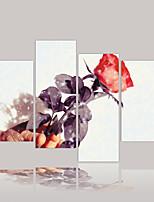 Toile Abstrait Toile Format Horizontal Imprimé Décoration murale For Décoration d'intérieur
