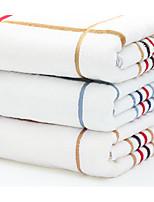 Style frais Serviette de bain,Rayure Qualité supérieure Mélangé polyester/coton Serviette