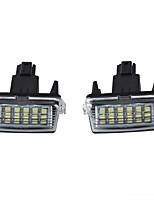 LED License Plate LED Lamps Waterproof Tag Bulb for TOYOTO