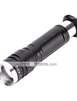 U'King LED Flashlights / Torch 1000 lm 5 Mode Cree XM-L T6 Zoomable Easy Carrying Durable Camping/Hiking/Caving Everyday Use Cycling/Bike