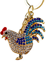 Key Chain Toys Chicken Animal Unisex Pieces