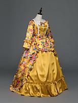 Party Kostüme Maskerade Steampunk® Vintage Inspirationen Viktorianisch Rokoko Prinzessin Promi-Stil Mittelalterlich Renaissance Cosplay