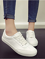 Women's Shoes Canvas Spring Fall Comfort Sneakers For Casual Outdoor Camel White