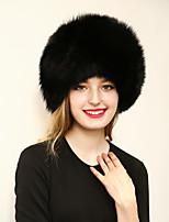 Women's Faux Fur Bowler/Cloche HatHats Jacquard Spring/Fall Winter Pure Color