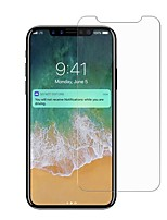 cheap -Tempered Glass Screen Protector for Apple iPhone X Front Screen Protector High Definition (HD) 9H Hardness Explosion Proof Scratch Proof