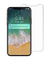 abordables -Protector de pantalla para iPhone X Vidrio Templado 1 pieza Protector de Pantalla Frontal Alta definición (HD) Dureza 9H A prueba de