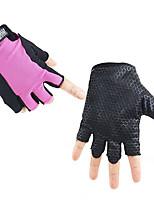 Women's Fabric Jacquard Wrist Length Half Finger,Soak Off Accessories Color Block All Seasons