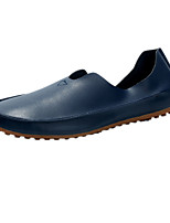 Men's Shoes Leatherette Spring Fall Comfort Loafers & Slip-Ons For Casual Party & Evening Blue Red White