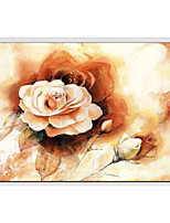 Pintados à mão Floral/Botânico Outros 1 Painel Tela Pintura a Óleo For Decoração para casa