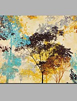 Colorful Woods 100% Hand Painted Contemporary Oil Paintings Modern Artwork Wall Art for Room Decoration