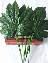 40cm 10 Pcs Home Decoration Artificial Green Plants Maple Leaf