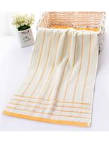 Style frais Serviette,Rayures Qualité supérieure Mélangé polyester/coton Sergé Serviette