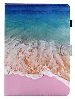 billige -til case cover kortholder med stativ flip magnetisk mønster fuld krop tilfælde sceneri hårdt pu læder til æble ipad pro 10,5 ipad (2017)