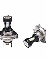 2PCS New Arrival SMD LED 18W H4 LED Fog Light Bulb 3020 18SMD LED 6000K LED H4 White Color