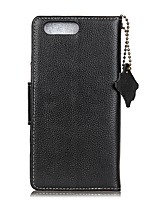 For Case Cover Card Holder Wallet Flip Full Body Case Solid Color Hard Genuine Leather for OnePlus One Plus 5