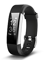 115 plus pulsera inteligente monitor de fitness tracker recordatorio monitor del ritmo cardíaco smartwatch para android& ios