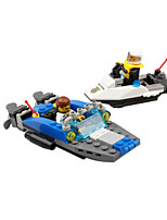 Building Blocks Boat Toys Nautical Military Kids Boys Boys' 125 Pieces