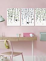 Wall Decor Polyester Modern/Comtemporary Wall Art,3