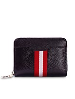 Women Bags All Seasons Cowhide Wallet Zipper for Shopping Casual Black Coffee