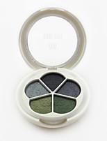 5 Paleta de Sombras Mate Paleta da sombra Pó Maquiagem para o Dia A Dia