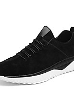 Men's Shoes Suede Fall Winter Comfort Light Soles Sneakers Lace-up For Athletic Casual Camel Gray Black