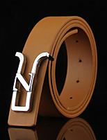 Men's Alloy Waist Belt,Irregular Style Solid