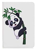 panda e bambù portafoglio con portafoglio magnetico in cuoio per la scheda galassia samsung a 9.7 t550 t555 tablet pc da 9.7 pollici