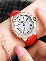 Women's Fashion Watch Quartz Leather Band