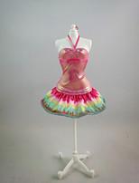 Pour Poupée Barbie orange fluorescent Pour Fille de Jouets DIY
