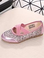 Fille Chaussures Polyuréthane Eté Confort Ballerines Pour Décontracté Rose