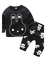 Baby Boys' Daily Print Clothing Set,Outfits Autumn/Fall
