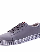 Men's Shoes PU Spring Summer Comfort Sneakers For Casual Blue Gray Black