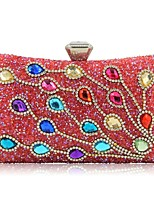 Women Bags All Seasons Polyester Evening Bag Beading Embroidery for Event/Party Red Silver Black Gold Blue