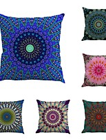 Set Of 6 Sandbeach Novelty Bohemia Geometry Case 45*45Cm Sofa Cushion Cover