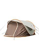 3-4 personnes Tente avec Filet de Protection Tente Cabine Abri de Camping Tente Unique Tente de camping Une pièce Tente automatique