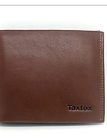 Men Bags All Seasons Cowhide Wallet Zipper for Event/Party Formal Brown