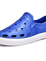 Women's Shoes PU Spring Fall Comfort Sneakers For Casual Royal Blue Khaki Black