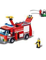 Building Blocks Fire Engine Vehicle Toys Vehicles Boys 206 Pieces
