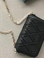 Women Bags Cowhide Crossbody Bag Zipper for All Seasons Black