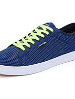 Men's Shoes Breathable Mesh Spring Fall Light Soles Sneakers For Casual Dark Blue Gray Royal Blue