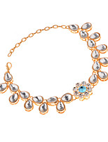 Women's Anklet/Bracelet Rhinestone Alloy Sexy Bohemian Drop Jewelry For Party Going out