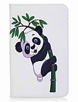 Panda and Bamboo Pattern Card Holder Wallet with Stand Flip Magnetic PU Leather Case for Samsung Galaxy Tab A 7.0 T280 T285 7.0 inch Tablet PC