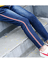 Girls' Solid Jeans Winter