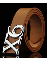 Men's Alloy Waist Belt,Pattern Solid Fashion