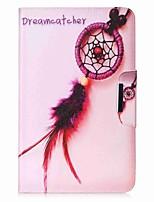 dream catcher muster kartenhalter brieftasche mit stand flip magnetische pu ledertasche für samsung galaxy tab a 10,1 t580n t585n 10,1
