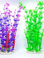 Aquarium Decoration Waterplant Ceramic Plastic